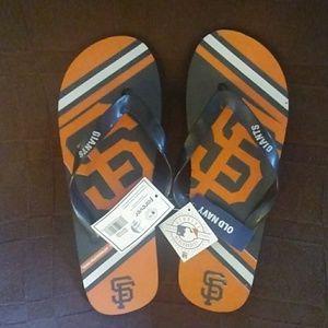 *NWT* SF Giants Flip Flops